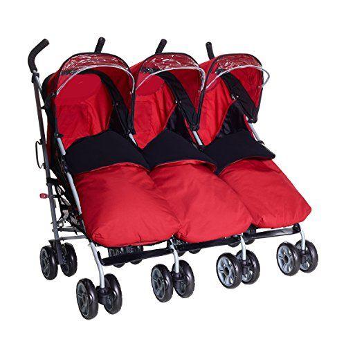 Triplet buggy tandem pushchair (With 3 x red footmuffs, R... https://www.amazon.co.uk/dp/B06XW6TCKT/ref=cm_sw_r_pi_dp_U_x_6xANAb9RR2A9M