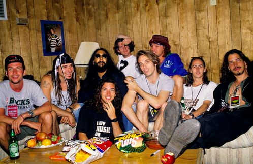 Temple of the Dog - Soundgarden and Pearl Jam buddies