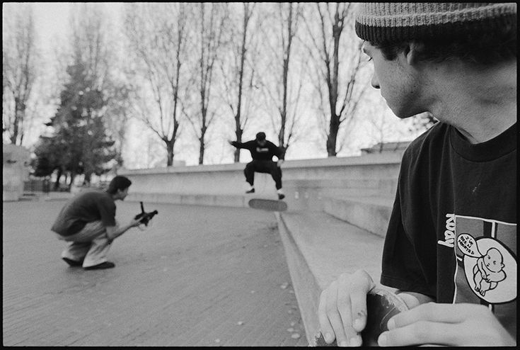 Mike Carroll Looking onto Aaron Meza filming Chico Brenes / photo: Tobin Yelland FTC: PHOTOS & STORIES BEHIND THE HISTORIC