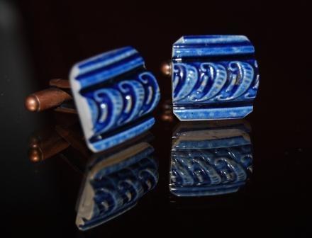 pieces of antique broken wedgwood porcelain