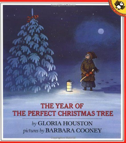 The Year of the Perfect Christmas Tree: An Appalachian Story (Picture Puffins) by Gloria Houston http://www.amazon.com/dp/0140558772/ref=cm_sw_r_pi_dp_jXhJub1B5K7YH