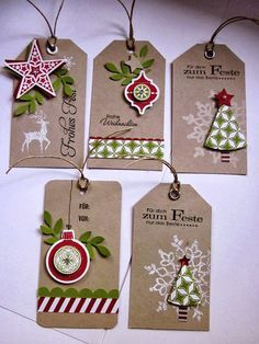 making gift tags - Google Search