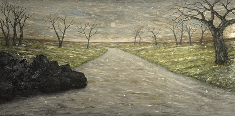 Peter Booth - landscape - love