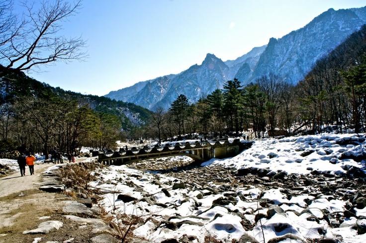 Mt. Seorak in Gangwon-do. : )
