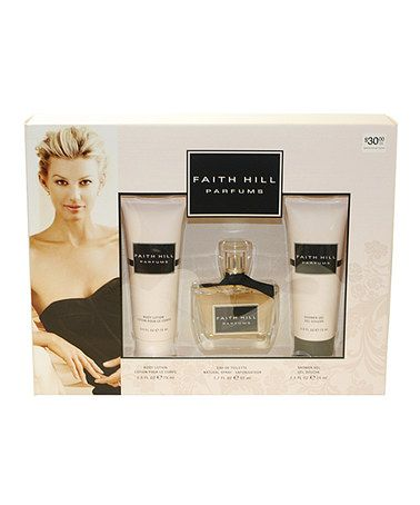 Love this Parfum Three-Piece Gift Set by Faith Hill on #zulily! #zulilyfinds
