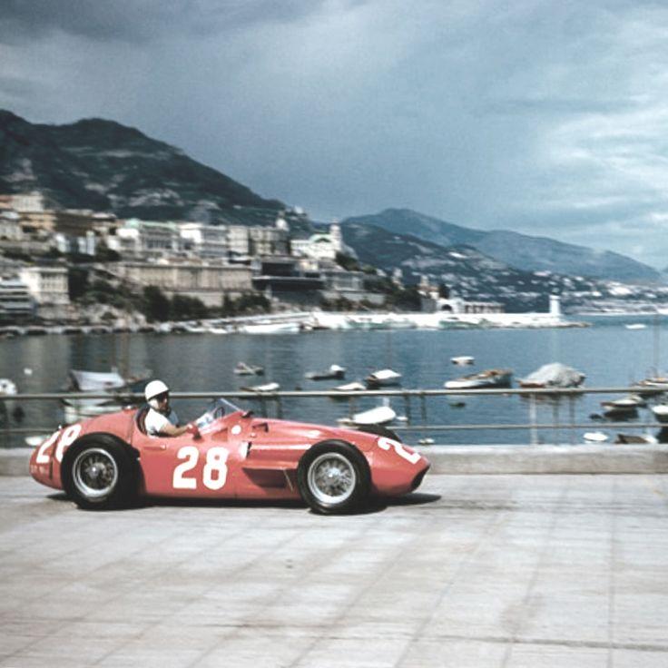 Wishing our weekend plans looked something like this! Moss in Monaco, driving the Maserati 250F. Photo by Bernard Cahier in 1956.⠀ .⠀ .⠀ .⠀ .⠀ .⠀ #maserati #maserati250F #stirlingmoss #monaco #racingdriver #car #sportscar #motorsport #formula1 #f1 #exoticcar #classiccar #lovecars #grandprix #racing #ride #drive #horsepower #carlovers #instacars #vintagecar #caroftheday #racingheroes