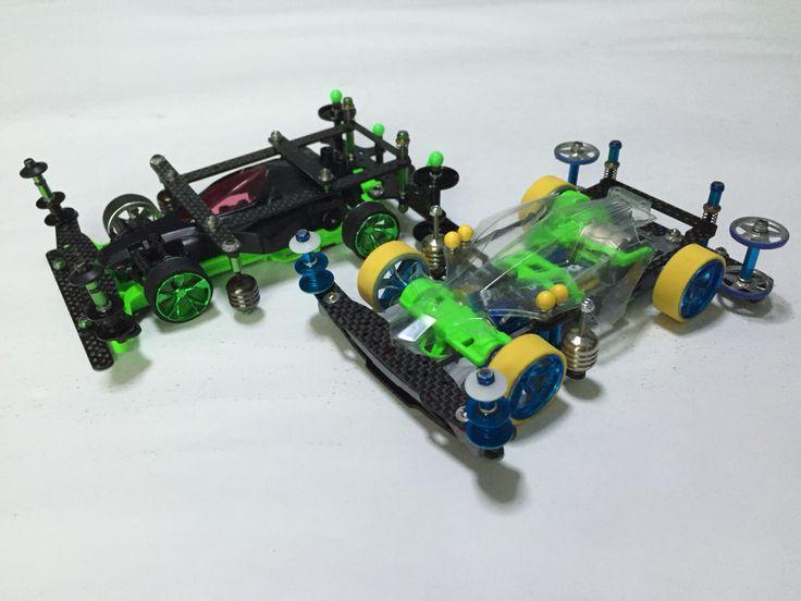 Green/Black S2 Cage Setup &  S2 body slam setup