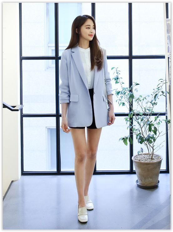 awesome All Korean Fashion items up to 70% OFF! Bongjashop - Notched-Lapel Single-Breast... by http://www.redfashiontrends.us/korean-fashion/all-korean-fashion-items-up-to-70-off-bongjashop-notched-lapel-single-breast/