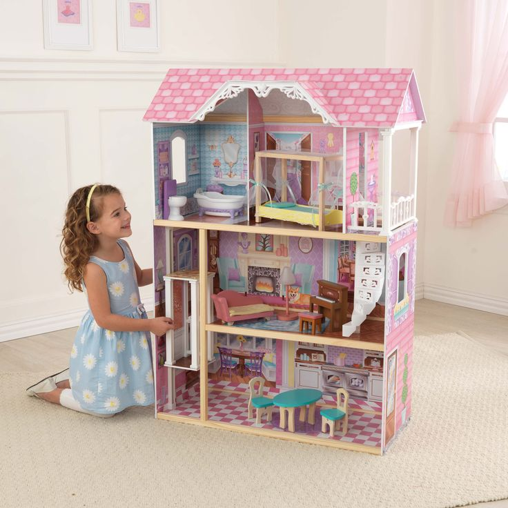 Charming Chateau #dollhouse #kidkraft