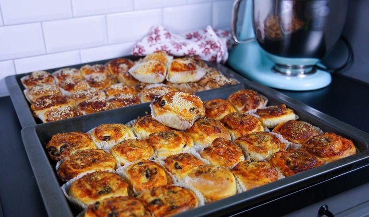 Pizzabullar- Mjuka och goda - ZEINAS KITCHEN