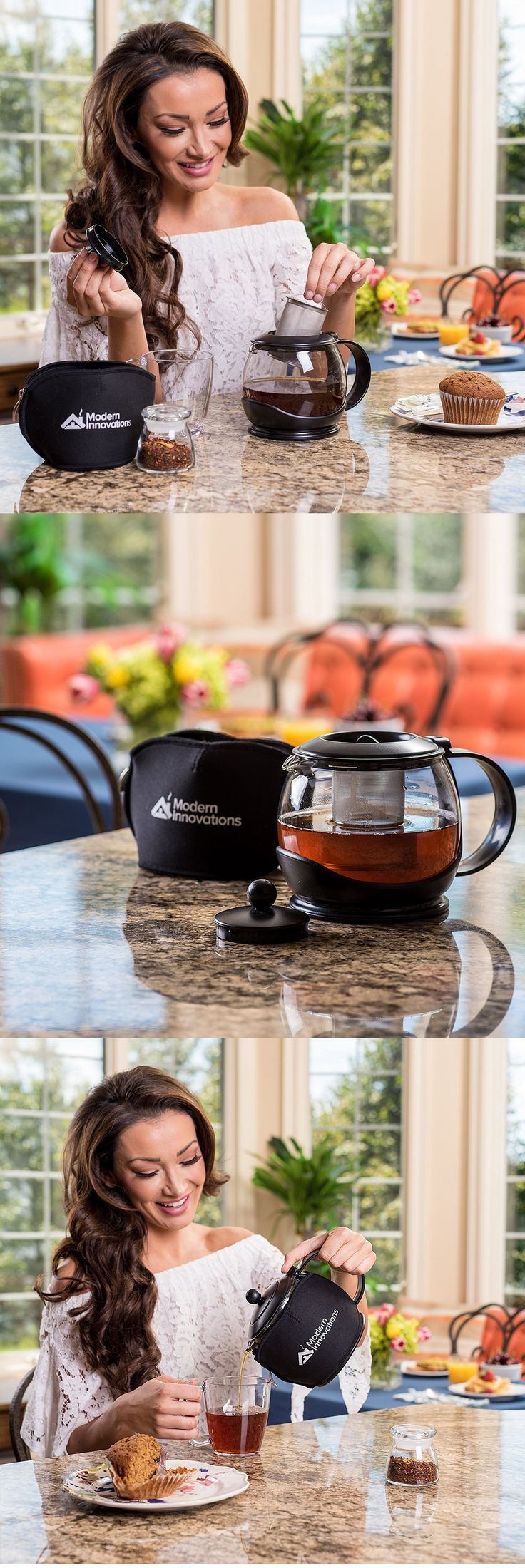 Modern Teapot with Infuser and Washable Cozy – An Excellent Heat Resistant Glass Teapot | Craze Trend