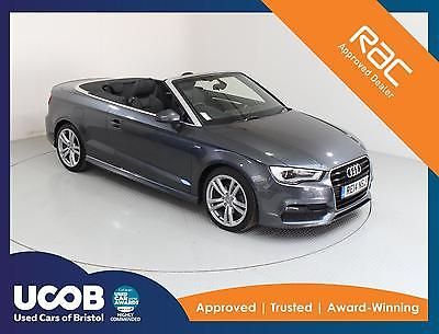 2014 AUDI A3 2.0 TDI S LINE CABRIOLET 2DR CONVERTIBLE DIESEL
