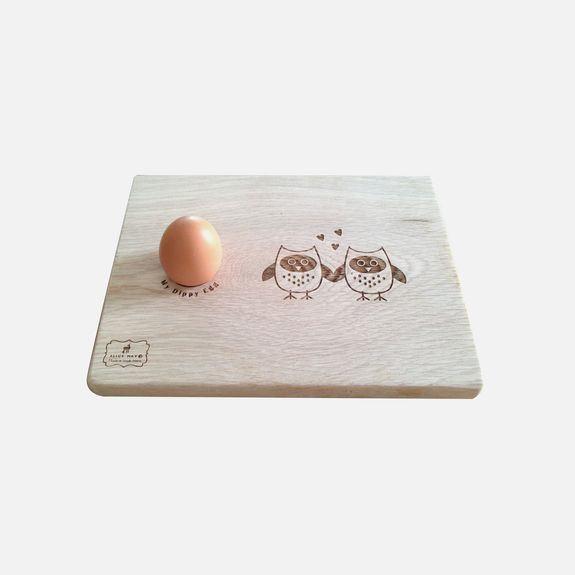 Alice May - Love Owls Dippy Egg Board