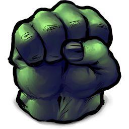 Comics Hulk Fist icon