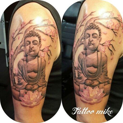 Buddha Tattoo  JMTattooalkmaar Pinterest Tattoos