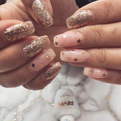 37+ unieke gouden nailart-ontwerpen 2019 voor uw stijlvolle zomerstijl