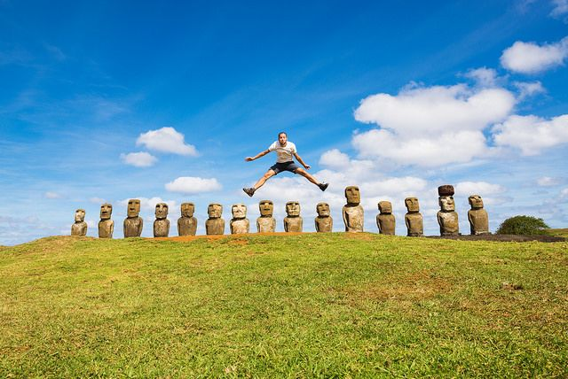 Jumping 15 moai ONE