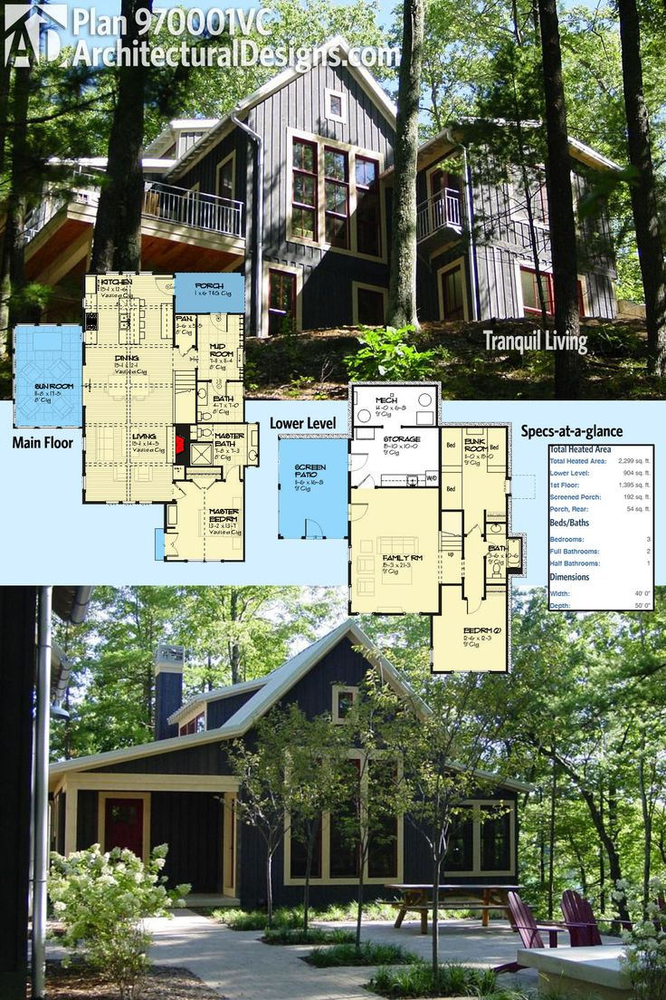 57 best homes for the sloping lot images on pinterest house
