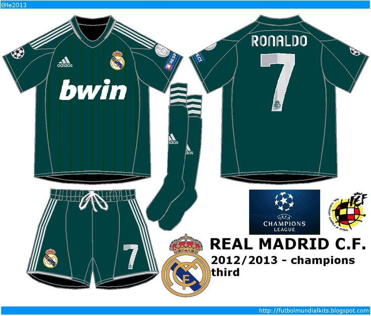 25 Real Madrid 3rd Kit Ideas Pinterest Manchester 2012 13