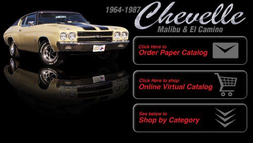 Chevelle Parts | El Camino Parts | National Parts Depot