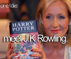J.K Rowling   via Facebook