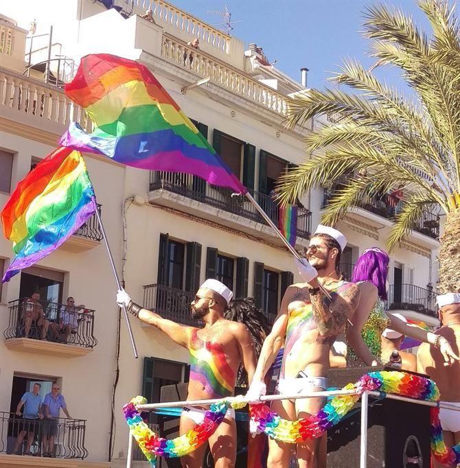 Gay Pride de Sitges, Catalogne - Costa Brava (Espagne)