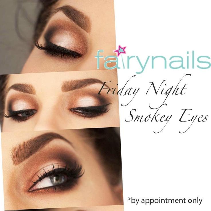 Smokey eyes for Friday night!