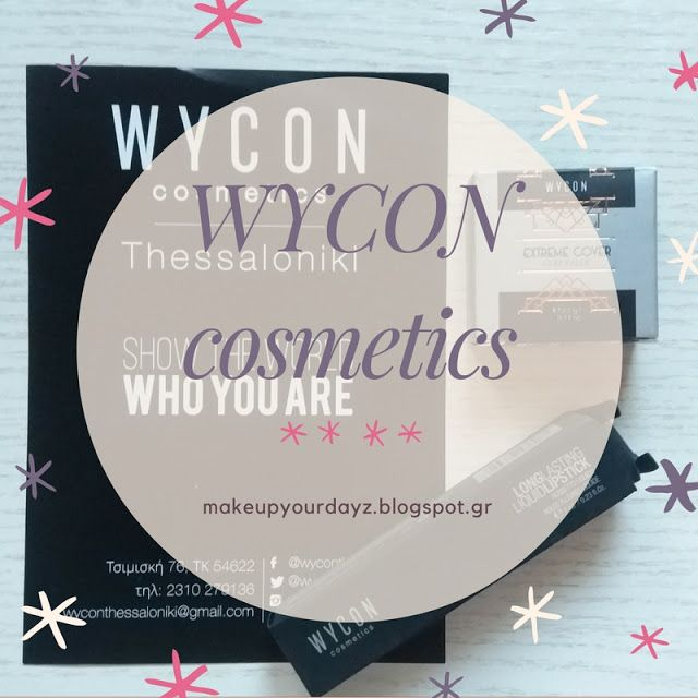 make up your dayz: Review: Wycon Cosmetics