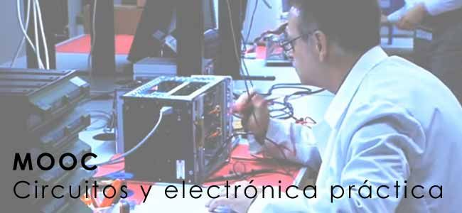 La UNED acaba de publicar un nuevo curso gratis de formación online (COMA) sobre bases de circuitos y electrónica práctica. Este curso gratuito permite adquirir competencias prácticas en el análisis de circuitos básicos eléctricos y electrónicos en un laboratorio con componentes reales, así como en el manejo de equipos de laboratorio de electrónica y en el empleo y comportamiento de componentes reales. | http://formaciononline.eu/curso-gratis-online-circuitos-electronica-practica/