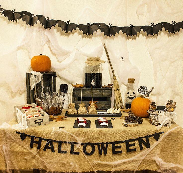 Candy bar temático Halloween
