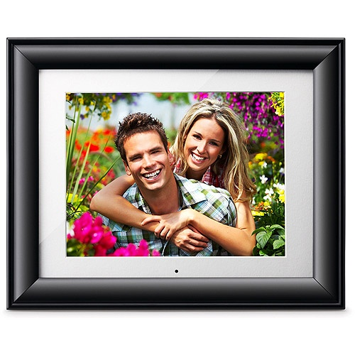viewsonic 102 digital photo frame with 2gb internal memory and memory card slots