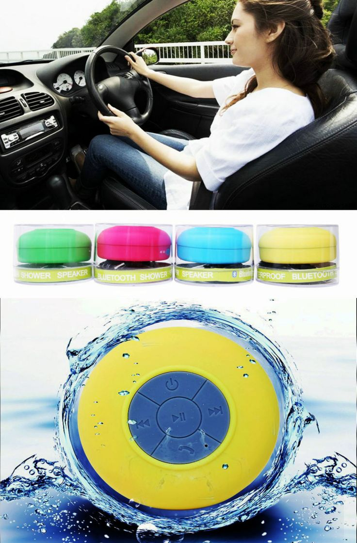 $14.88- Genuine authorized Portable Waterproof Wireless Bluetooth Speaker Car Handsfree Receive Call &Music Mic Free Shipping