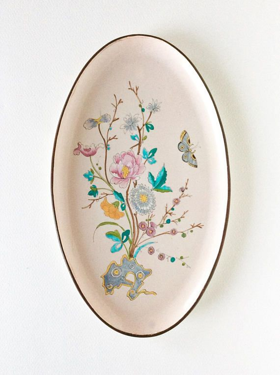 Antique French. Rare. French antique. Antique porcelain plate.