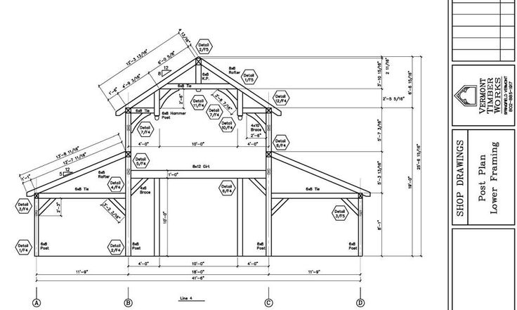 11 best timber framing images on pinterest timber frames for Roof drawing software