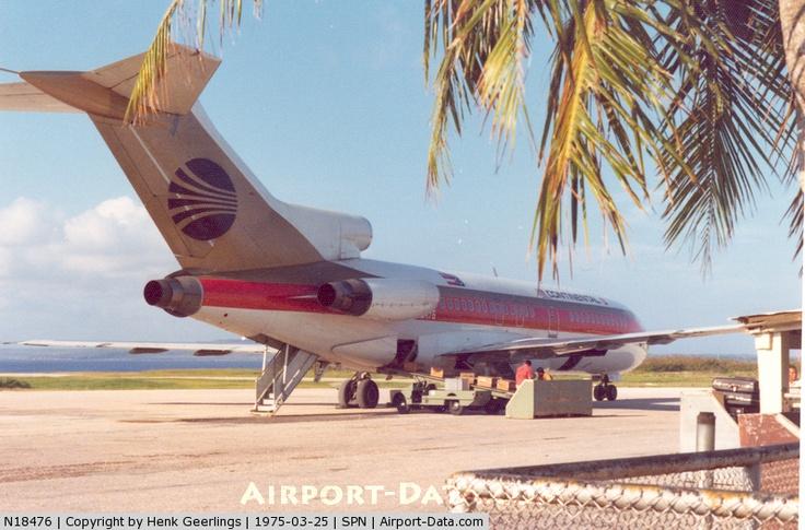 N18476, Boeing 727-92C C/N 19173, Continental - Air Micronesia B727 , March '75