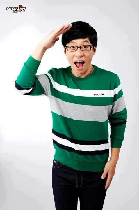 Yoo Jae Suk of Running Man! Come visit kpopcity.net for the largest discount fashion store in the world!!