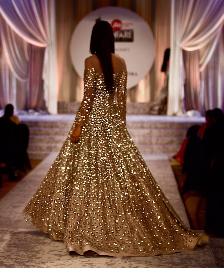 My dream Manish Malhotra gown