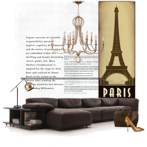 Mex in Paris... by gloriettequartet on Polyvore featuring interior, interiors, interior design, home, home decor, interior decorating, Beekman 1802, Dot & Bo, Giuseppe Zanotti and Louis Vuitton