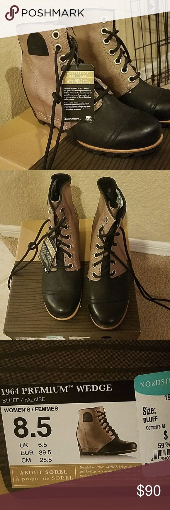 Sorel Wedge Boot Sorel Wedge Boot 8.5 Never Worn Before. Super cute! Sorel Shoes Wedges