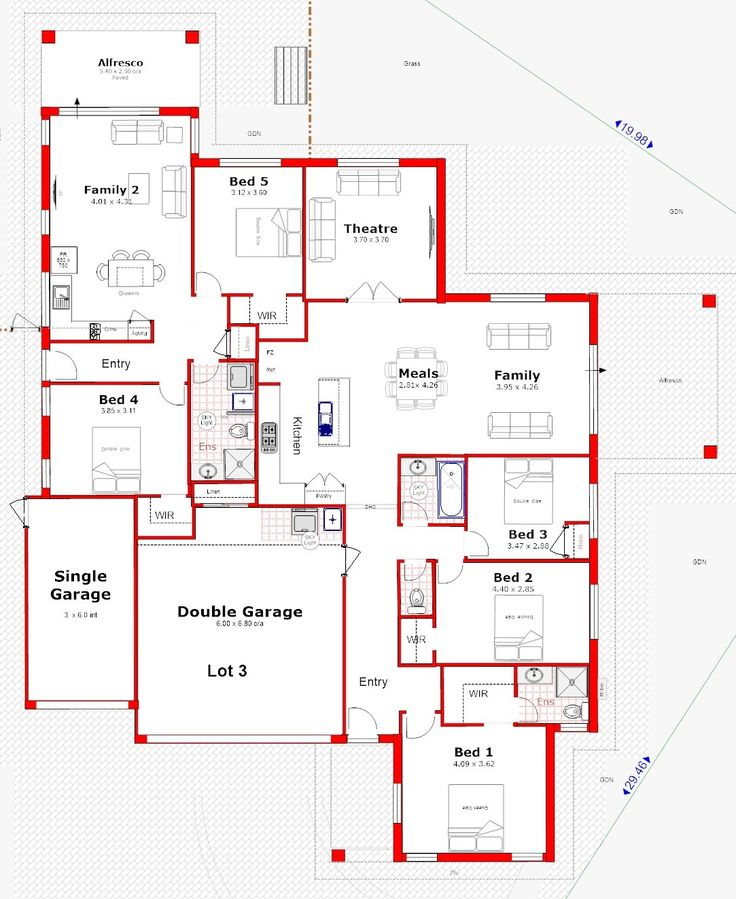 Dual Occupancy House Plans Perth