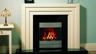 Art Deco Fireplace - Modern twist