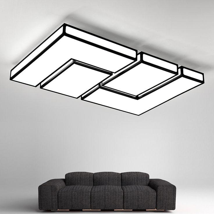 Mejores 410 imgenes de ceiling lights fans en pinterest modern led ceiling light for living dining room ac85265v square simple decoration lighting fixtures aloadofball Choice Image
