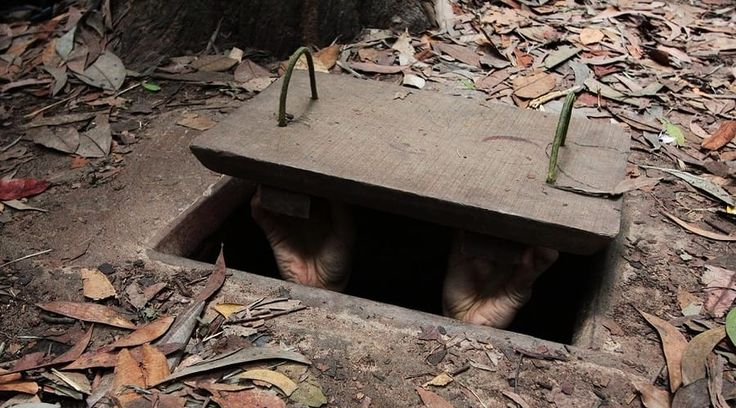 Top Vietnam Sightseeing Attractions -  Cu Chi Tunnels are an intensive tunnel network that through the war.