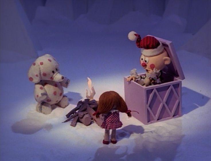 Misfit Charlie Toys Reindeer Nosed Box Rudolph Red