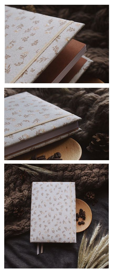 Handmade sketchbook with covers made of cotton | Sketchbook A5 ON SALE