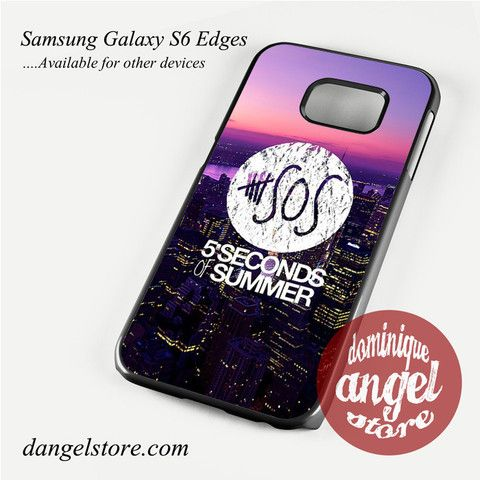 5 seconds of summer city logo Phone Case for Samsung Galaxy S3/S4/S5/S6/S6 Edge