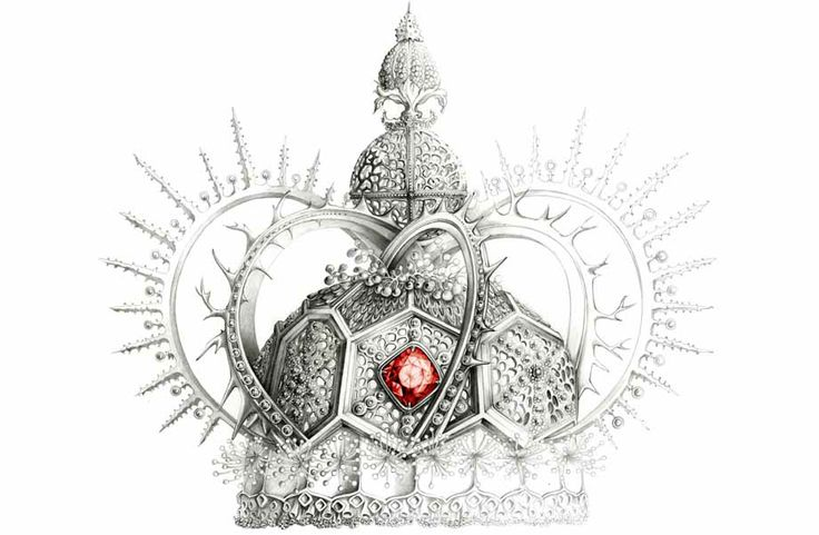 crown illustration jewel Florence Gendre