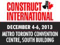 Check out more details on Construct International, the largest construction expo in Canada at www.construct-internationalexpo.ca  #construction #expo #architecture #design #internationalbusiness