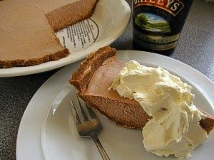 IRISH DESSERT Baileys mouse Pie!