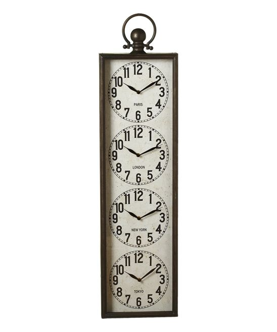 17 Best Ideas About Time Zone Clocks On Pinterest Time